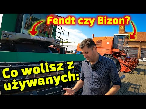 Embedded thumbnail for Który kombajn byś wybrał używanego Bizona, czy Fendta?