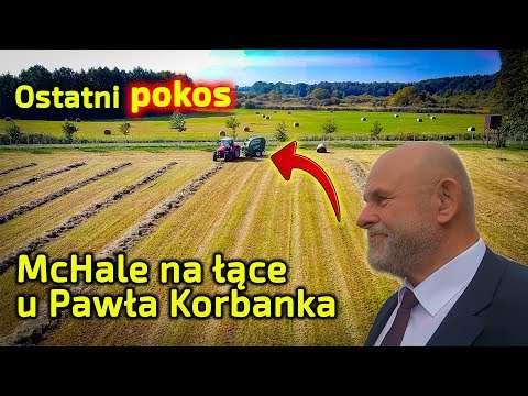 Embedded thumbnail for Ostatni pokos w dolinie rzeki Samy na łące Pawła Korbanka prasa McHale