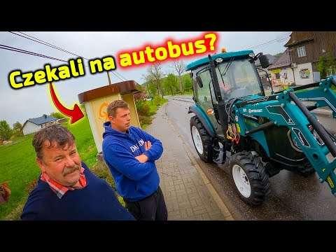 Embedded thumbnail for Na przystanku kupili nowy ciągnik? Piciu im go tu przekazał Dlaczego tutaj?