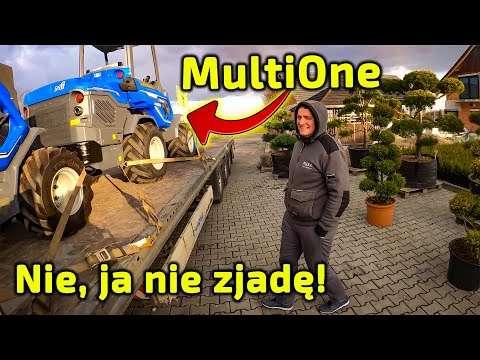 Embedded thumbnail for Nowy nabytek w Centrum Ogrodniczym w Tychach mini-ładowarka MultiOne
