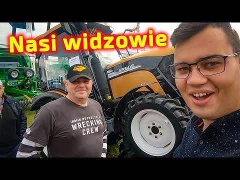 Embedded thumbnail for Widzowie kanału Paweł Korbanek tym razem na ekranie Targi Agroshow Bednary 2021