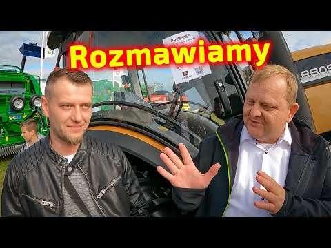 Embedded thumbnail for Widzowie kanału Korbanek o targach AGROSHOW Bednary 2021  i o Jockerfarm