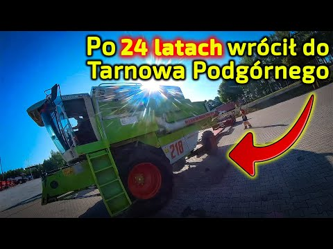 Embedded thumbnail for Kombajn Claas Mega 218 po 24 latach wrócił do Korbanka Zamiana na kombajn Fendt