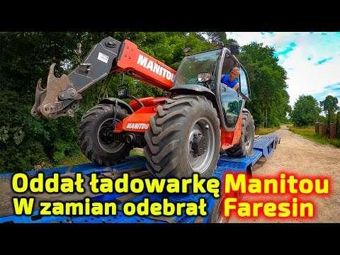 Embedded thumbnail for Kierowca Piciu odbierze ładowarkę Manitou ale zostawi nowego Faresin-a