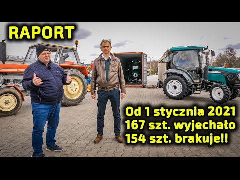 Embedded thumbnail for Ciągniki na zapisy Jak za czasów starego Ursusa! Ręce opadają!