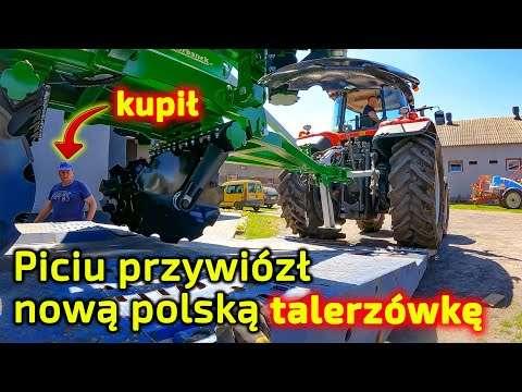 Embedded thumbnail for Piciu przywiózł nową talerzówkę Tolmet Megatron To tania, dobra polska maszyna rolnicza Korbanek