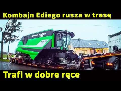 Embedded thumbnail for Tak jak Edi Farmer i P.Korbanek uzgodnili Kombajn Deutz-Fahr oddany mza Rostselmash Vector 425