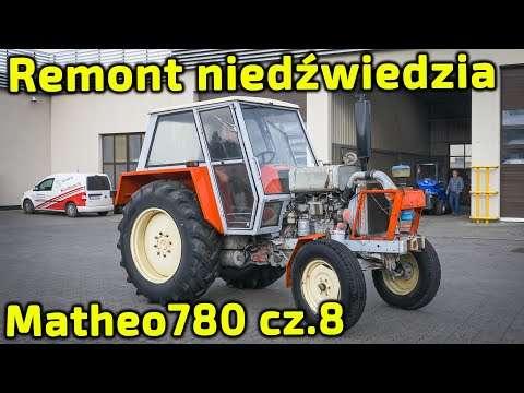 Embedded thumbnail for Ursus Matheo780 Lakierowanie Gruby remont niedźwiedzia cz.8 Korbanek odpicuje Ci ciągnik