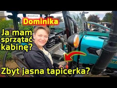 Embedded thumbnail for Dlaczego Dominika czyściła kabinę Arbosa Bałtyk Trip Traktor 7