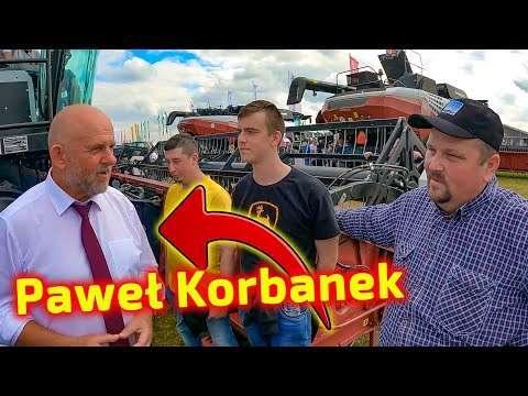 Embedded thumbnail for Paweł Korbanek rozmawia o kombajnie Jockerfarm z rolnikiem na targach AGROSHOW 2021
