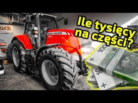 Embedded thumbnail for Ile tysięcy zł wydał na części? a ile oszczędził? Massey Ferguson 7624
