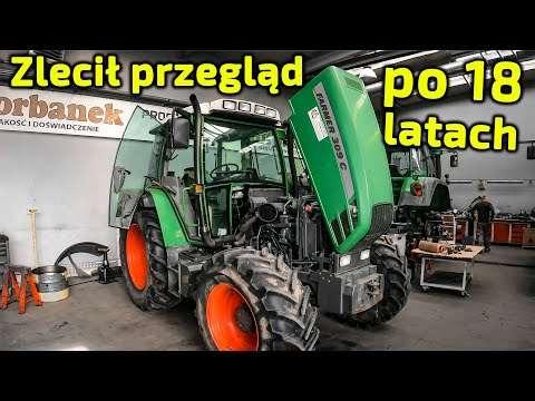 Embedded thumbnail for  Po 18 LATACH zlecił PRZEGLĄD Ciągnik Fendt 309 C i tylko 3600 godzin