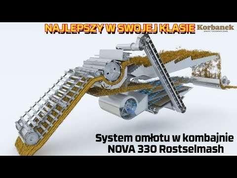 Embedded thumbnail for 3,59m² powierzchnia sit Kombajnu Nova 330 Rostselmash
