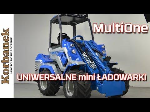 Embedded thumbnail for 7 serii uniwersalnych mini ŁADOWAREK MultiOne