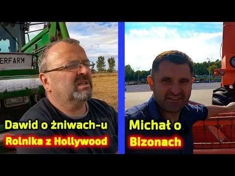 Embedded thumbnail for Czy Dawid dobrze wspomina żniwa u Rolnika z Hollywood? a co Michał gada o Bizonach?