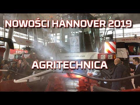 Embedded thumbnail for TARGI AGRITECHNICA 2019 HANNOVER NOWOŚCI |Maszyny rolnicze|PREMIERY