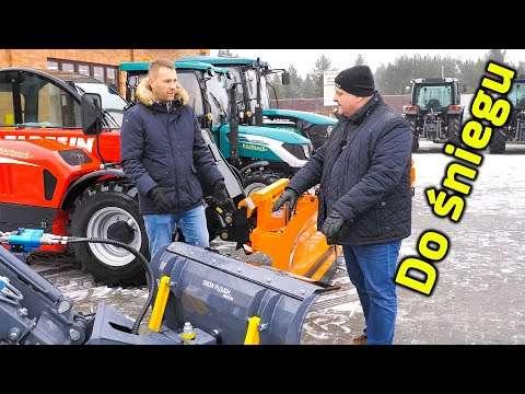 Embedded thumbnail for Polak potrafi włoskie ładowarki rolnicze z polskim osprzętem użyje do odśnieżania i zarobi