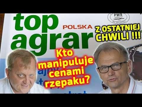 Embedded thumbnail for WAŻNE: Kto manipuluje cenami rzepaku w Polsce? TopAgrar NEWS!